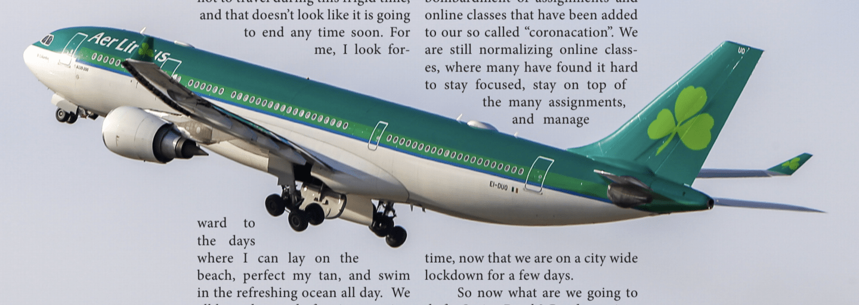 Spring Break At Home, Flights Fly Empty