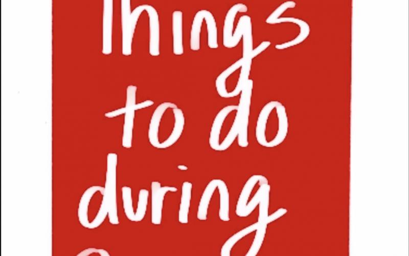 Things to Do During Quarantine – Jonathan Han