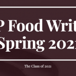 SHP Food Writers Spring 2021