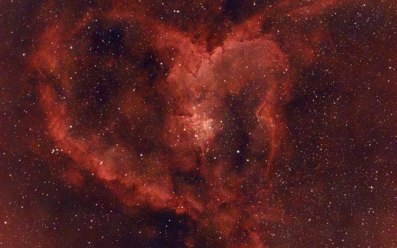 Heart Nebula – Happy Valentine's Day!
