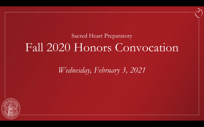 Honors Convocation – Fall 2020
