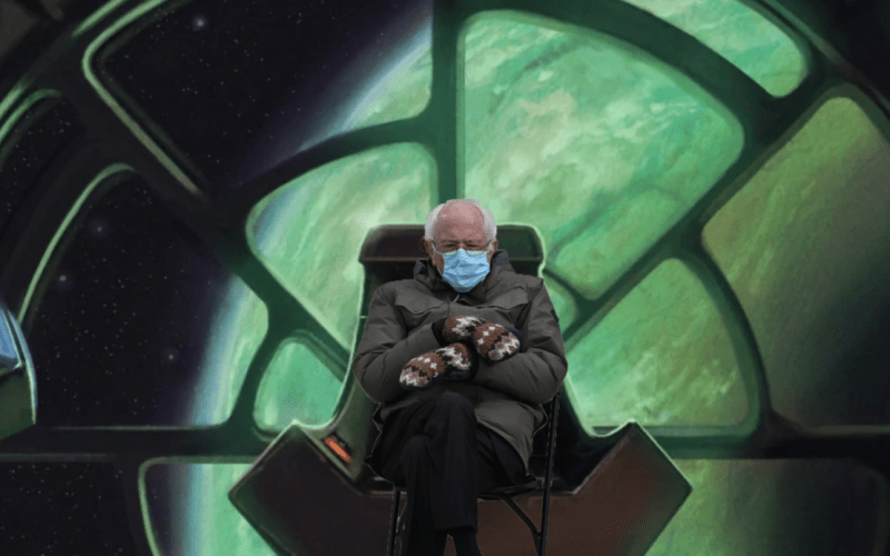 Bernie Pics – Inauguration Meme Flashback!