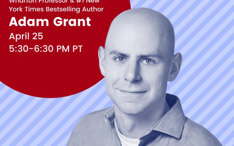 Real Talk Guest Speaker: Adam Grant
