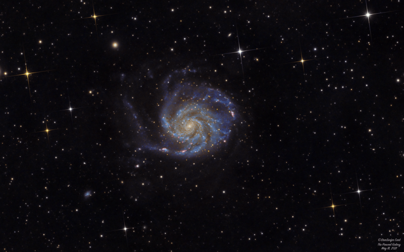 The Pinwheel Galaxy to End the Year!