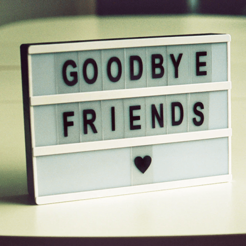 Social Sciences Says Good-Bye!